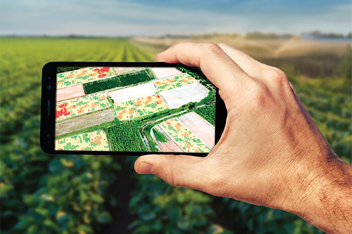 UAV imagery offers multiple irrigation applications