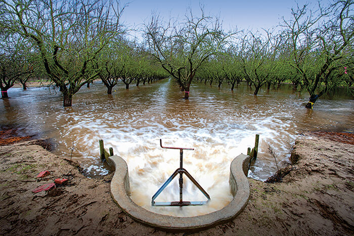 California groundwater recharge