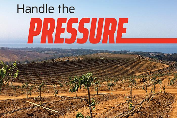 Handle the pressure